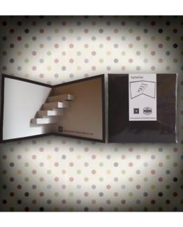 02_symetrie - kirigami - biglietto di auguri - pop up