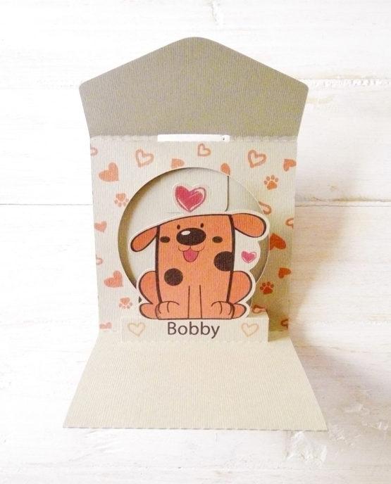"""Bobby"" - Biglietto Pop-Up artigianale 7 Nodi."