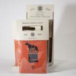 Espositore quaderni artigianali linea Roma con copertina intagliata - Colosseo