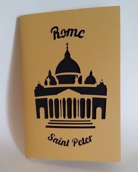 Quaderno Artigianale 7 Nodi Linea Roma - Saint Peter