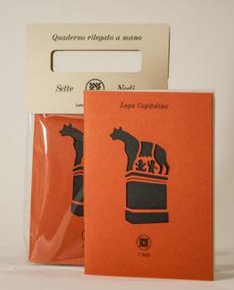 Quaderno lupa capitolina_linea roma