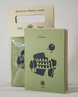 quaderno colosseo_linea roma