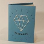 Quaderno ricamabiale - Diamante