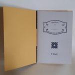Quaderno 7 Nodi con sovra copertina Gialla - Saint Peter Linea Roma